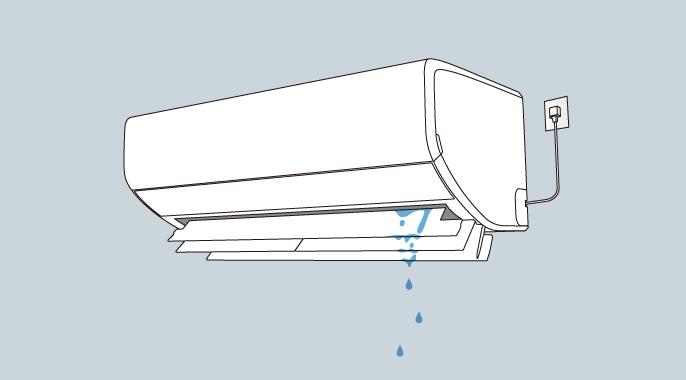 エアコン 配管 水漏れ