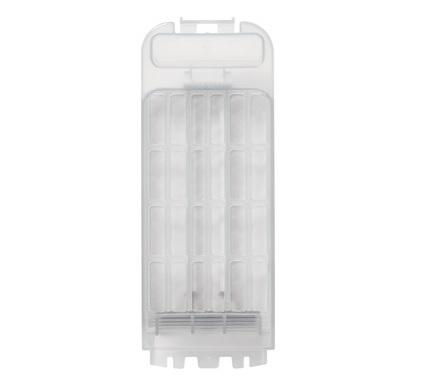 2020年5月以降に発売のタテ型洗濯機の糸くずフィルターは、半透明グレーです